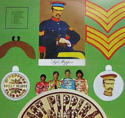 the beatles, sgt peppers lonely hearts club band, Vinyl EX | lp Hör zu SHZE 401.