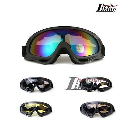 Bicycle Windproof MTB Cycling Anti-Fog Protection Goggles Ski Snow Glasses UV400