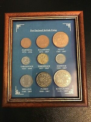Pre-Decimal Set Of British Coins