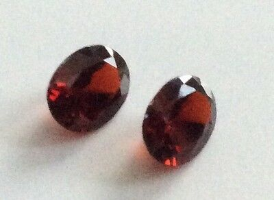OVAL CUT SHAPE NATURAL GARNET 7x5MM LOOSE GEMSTONE