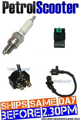 Ignition Coil   CDI   Spark Plug   Solenoid 4Stroke 50cc Chinese Scooter Baotian