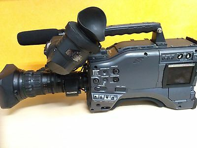 Panasonic Camcorder P2 Ag Hpx 500 With Optical Fujinon Extender