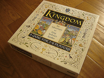 KINGDOM ,AN ADVENTURE IN KING ARTHUR'S REALM -  Complete and Unused