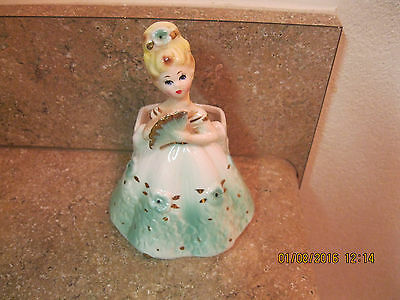 Vintage Parma AAI Planter Lady With Fan Made in Japan Ceramics - Beautiful!!