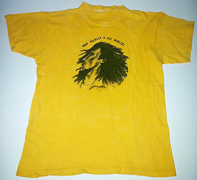 Bob Marley 1977 Original Concert Tshirt From The Paramount In Seattle