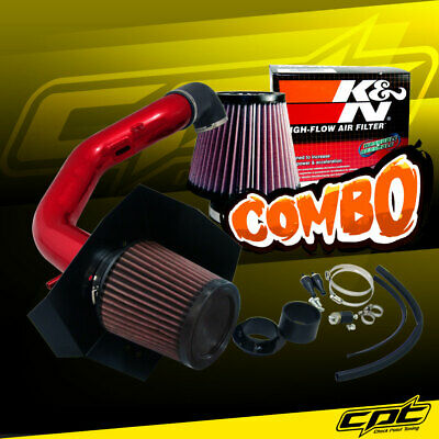04-08 Ford F150 5.4L V8 Red Cold Air Intake + K&N Air Filter