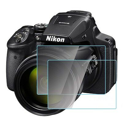 For Nikon P900 DSLR Camera LCD Screen Protector Film Hard Optical Tempered Glass