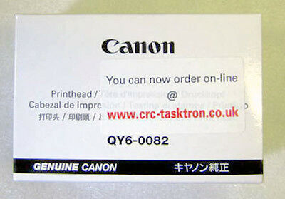 Genuine Canon Print Head QY6-0082-000 Canon iP7250, MG5450, MG5550, MG6450 - UK