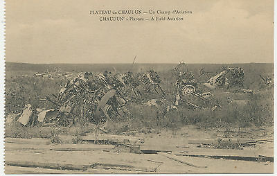 WWI FRANCE CHAUDUN's Plateau – A Field Aviation – Crashed Airplanes of WWI