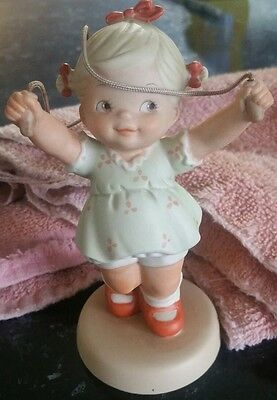 Enesco Memories of Yesterday SEND ALL LIFE'S LITTLE WORRIES SKIPPING Figure