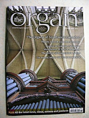 THE ORGAN MAGAZINE August 2011 Southwark Cathedral Thierry Escaich Tournemire