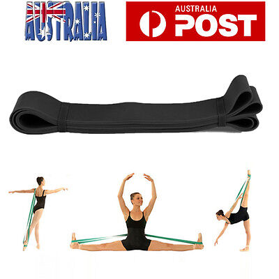 Elastic Foot Back Stretch Band Gymnastics Stretcher Strap Resistance Yoga Bands