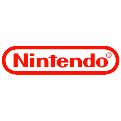 Nintendo game logo for Computer Console or Car Decal Sticker 19.5 cm x 4.8 cm