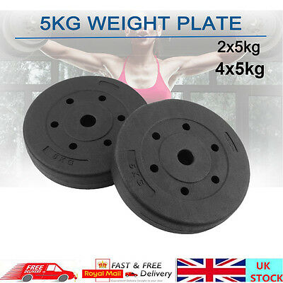 10KG 20KG Weight Plate Weightlifting For Barbell Gym Bench Press Dumbbell Fitnes