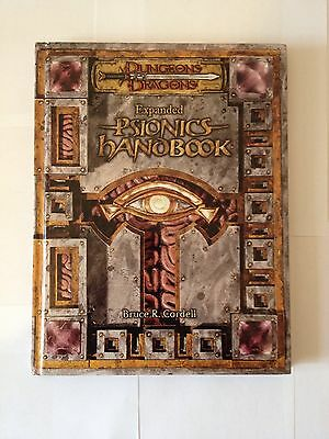 Dungeons And Dragons 3e Expanded Psionics Handbook