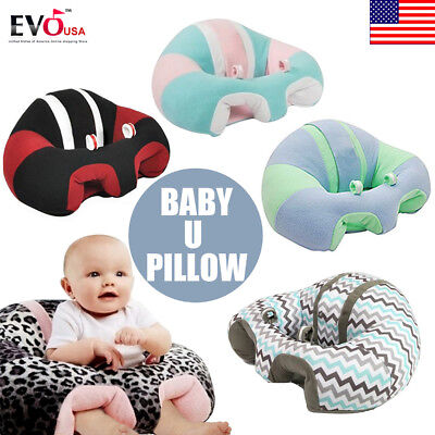 Lovely Nursing Pillow U Shaped Cuddle Baby Seat Infant Safe Dining Chair Cushion