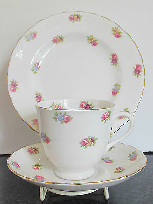 Tuscan China Cup Saucer & Sideplate Trio