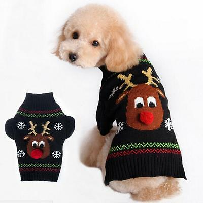 Pet Dog Cat Puppy Sweater Coat For Small Pet Dog Warm Costume Apparel New