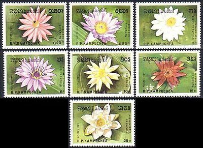 Cambodia Water Lilies MNH **  (56)