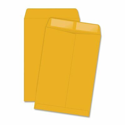 Quality Park Catalog Envelope, Plain, 28 lbs., 6 x 9 Inches, 500 per Box, Kraft