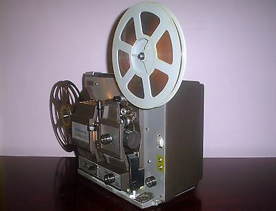 Bell & Howell 458 B Super 8 & Regular 8mm Adjustable speed Movie Projector