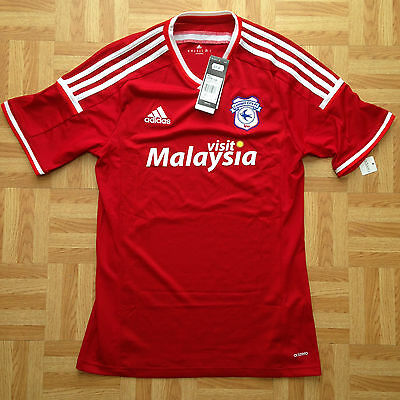 2015 2016 Cardiff City Home Football Shirt Medium Adult New With Tags Bnwt