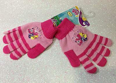 Hasbro Mio Mini Pony My Little Pony Guanti Rosa Pink Gloves Handschuhe Gants