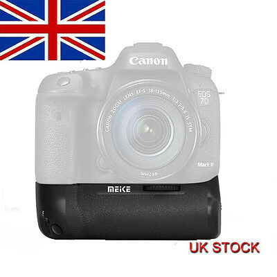 Meike MK-7DII Vertical Battery Pack Grip Holder f Canon EOS 7D Mark II as BG-E16