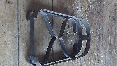 French Vintage Rustic Metal Trivet / Stand for Flat Iron