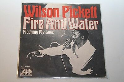 "Wilson Pickett - Fire And Water - 7"" Atlantic"