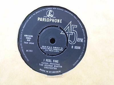 "THE GEORGE MARTIN ORCHESTRA"" I FEEL FINE"" Or.UK PARLOPHONE EX+ COND."