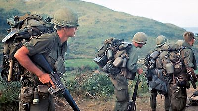 Vietnam War U.S. Army 5th Infantry Division Fire Base Charlie 1969 8.5x11 Photo