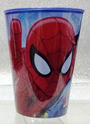 Supereroi Spiderman Bicchiere In Plastica Plastic Glass Of Spider Man