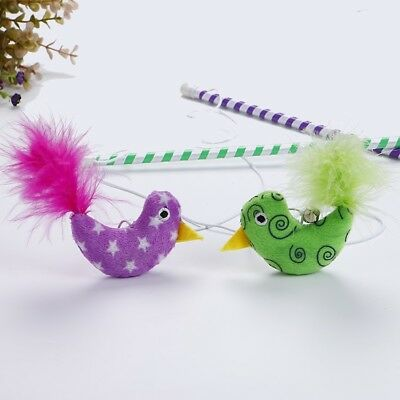 Cat Kitten Bird Teaser Activity Wand Toy