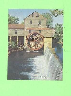 Vintage Calendar Image Glimpse Pf The Pasr Old Mill