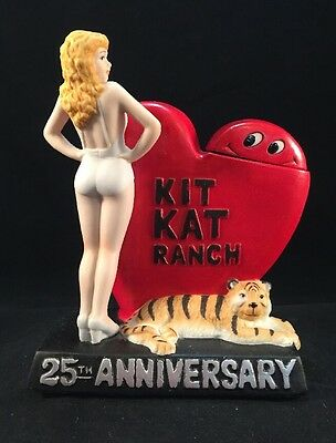 Kit Kat Ranch 25th Anniverary ~ Captain Dugs Brothel Decanter ~ 1993 ~ RARE