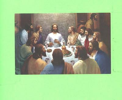 Vintage Calendar Image The Last Supper Holy Religious Image