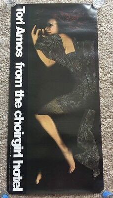 """Tori Amos """"from The Choirgirl Hotel"""" 1998 Promo Poster In Mint Condition L@@k"""