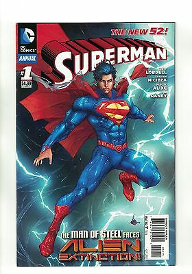 Superman Vol. 3 - Annual #1 | The New 52! | DC Comics - October 2012