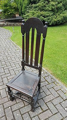 Late 17th Century / Early 18th Century High Back Hall Chair