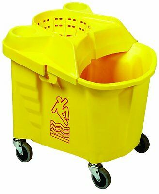 Continental Commercial Prod 335-312YW 35-Qt. Mop/Bucket Combo Pack