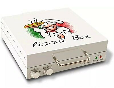 New Cuizen Pizza Box Oven Rotating 12 Inch Pizza Maker With Recipes Unique Gift
