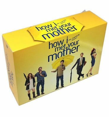 How I Met Your Mother: The Whole Story Complete Series Seasons 1-9 DVD