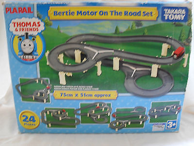 Tomy -  Bertie Motor On The Road Set - Thomas And Friends - Good Working Order