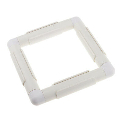 Plastic Square Embroidery Frame Cross Stitch Hoop for Quilting Sewing Tool