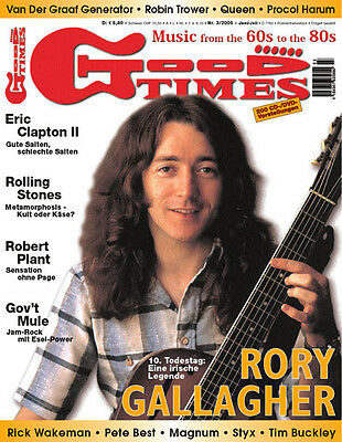 GoodTimes 3-2005 Rory Gallagher, Eric Clapton, Robert Plant, Gov´t Mule, Styx
