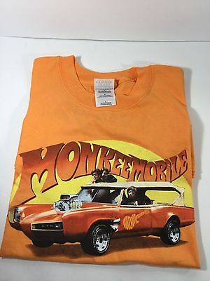 The Monkees, Monkee Mobile T-Shirt,1990's, Size Large, Never worn or washed.