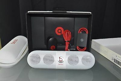 Beats Pill 2.0 Dr Dre Bluetooth Wireless Portable Speaker - WHITE