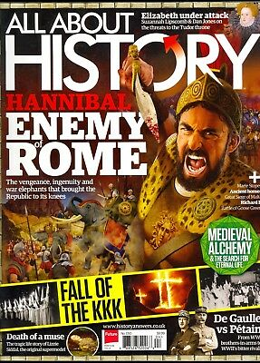 All About History HANNIBAL ENEMY OF ROME Fall-Of The KKK-MEDIEVAL ALCHEMY New