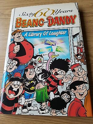 60 Years Beano and Dandy Annual - Library of Laughter  *EXCELLENT  CONDITION*